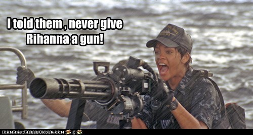 battleship,gun,i told you,movies,rihanna