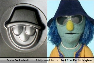 Easter Cookie Mold Totally Looks Like Zoot From Electric Mayhem