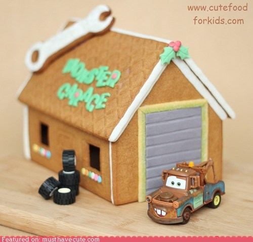 epicute,garage,gingerbread,truck,wrench