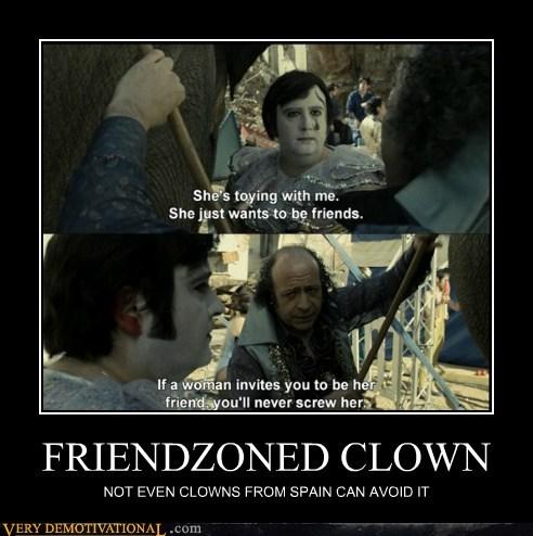 clown,friend zone,hilarious,Movie,Sad