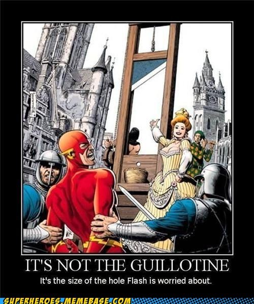 IT'S NOT THE GUILLOTINE