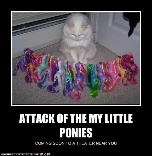 ATTACK OF THE MY LITTLE PONIES