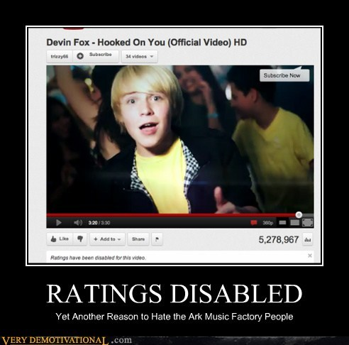 RATINGS DISABLED