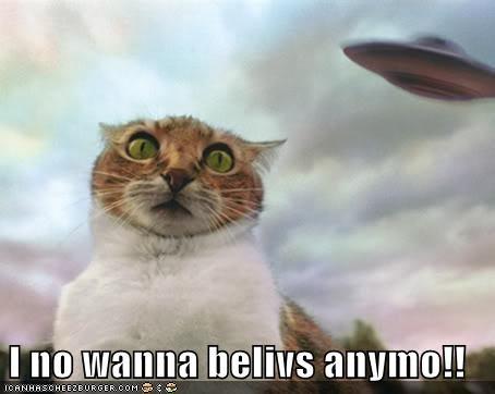 I no wanna belivs anymo!!
