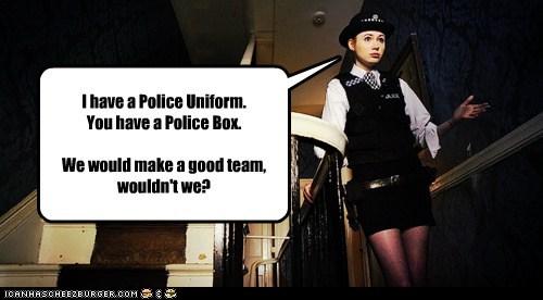 amy pond,doctor who,karen gillan,police,police box,tardis,team
