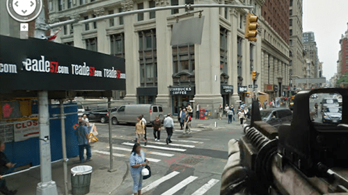 Google Street View FPS of the Day