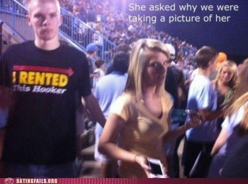 hey ladies,ladies,photobomb,strumpet,T.Shirt,We Are Dating