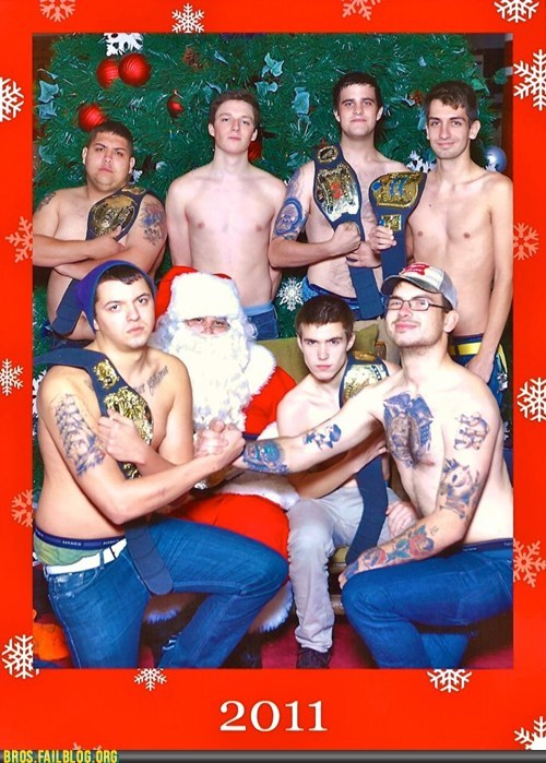 Merry Christmas from the WWE Wannabe Society