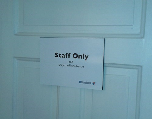 Staffed By Pedobear FAIL
