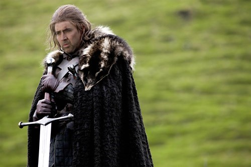 One True God,Game of Thrones,many faced god,season 5,nic cage