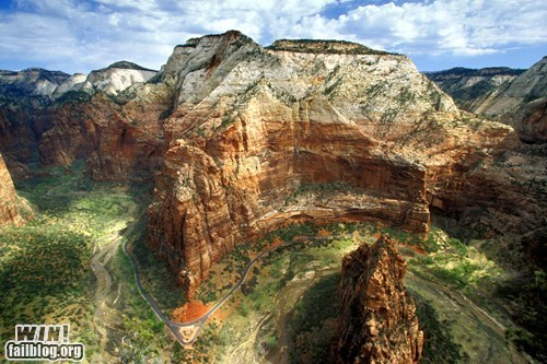 Mother Nature FTW: Zion National Park
