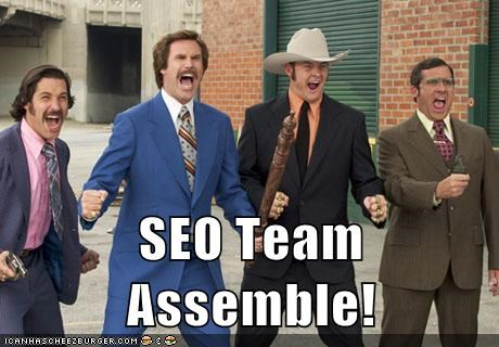 SEO Team Assemble!