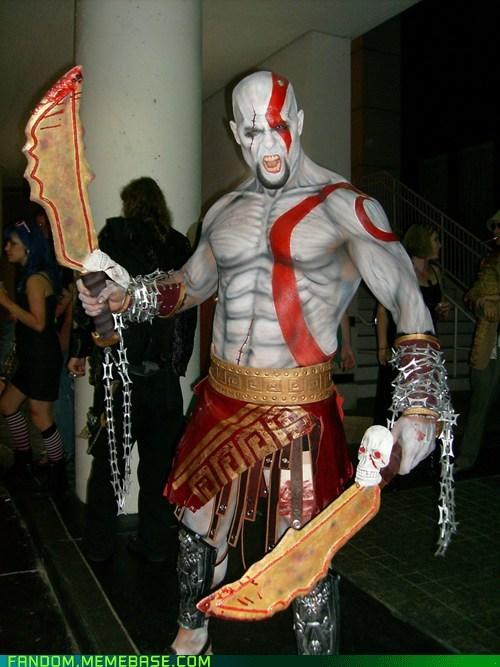best of week,cosplay,god of war,kratos,video games