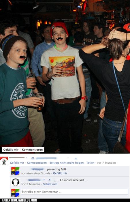 bar,drinking,facebook,Parenting Fail,underage,underage drinking