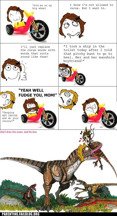 Cretaceous Mom Will Not Accept Your Homophones