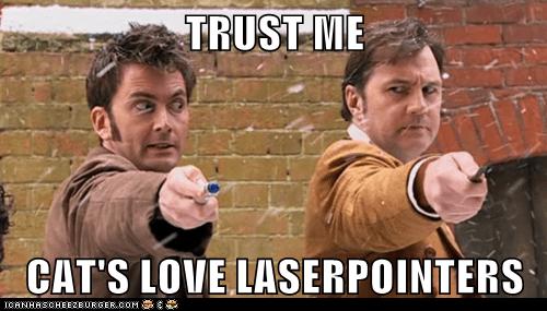 TRUST ME  CAT'S LOVE LASERPOINTERS