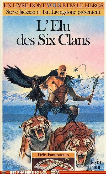 WTF Fantasy Book Covers: L'Elu des Six Clans