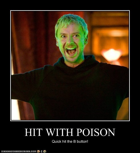 HIT WITH POISON