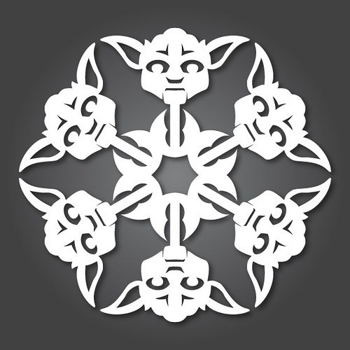 Star Wars Snowflakes of the Day