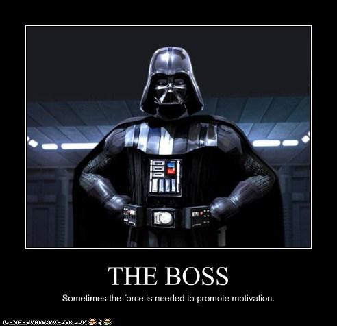 boss,darth vader,force,motivagion,star wars