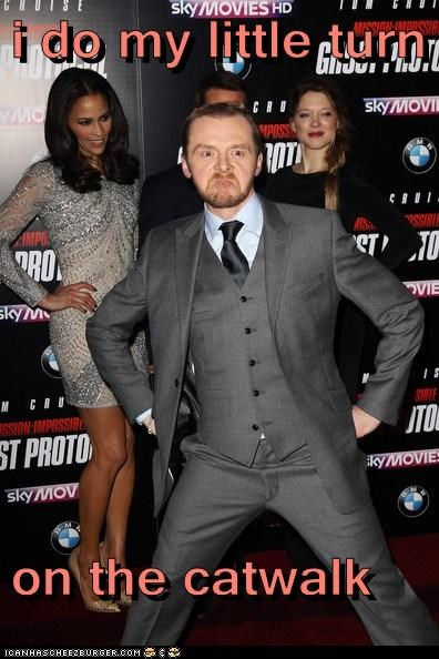 actor,celeb,funny,Hall of Fame,Simon Pegg