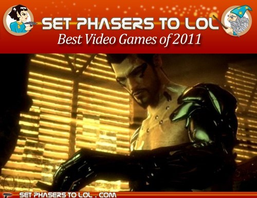 Best of the Year: Top Five Sci-Fi or Fantasy Video Games