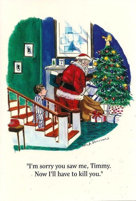 Sketchy Santas: It Didn't Have to End This Way, Timmy