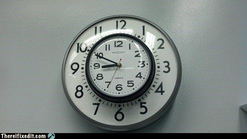 bad puns,clock,DIY,g rated,there I fixed it,time,time for puns