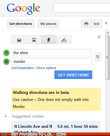 Well Played, Google Maps