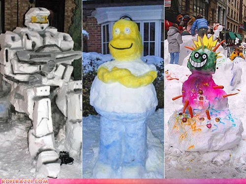 10 Awesome Snowman Creations