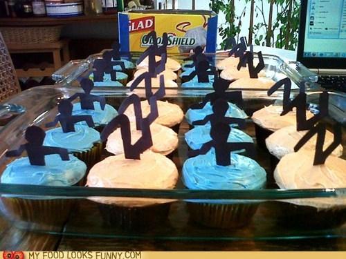 best of the week,blue,cupcakes,orange,Portal,video game