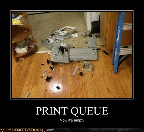 hilarious,print,queue,technology