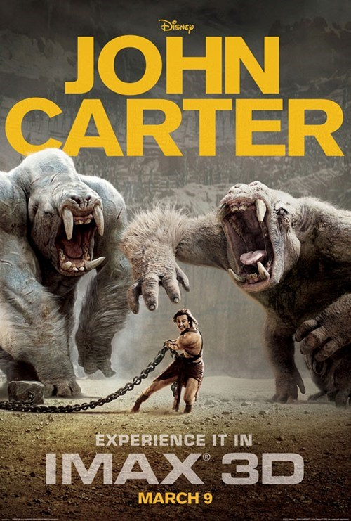 John Carter IMAX Poster of the Day