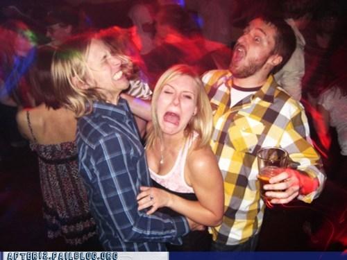 club,dancing,double,dudes,grinding,run away,that face,woo girls