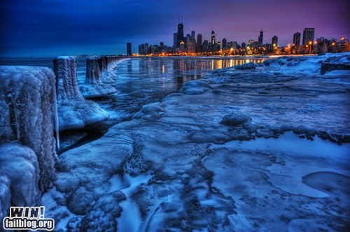 Brother Nature FTW: Frosty Chicago