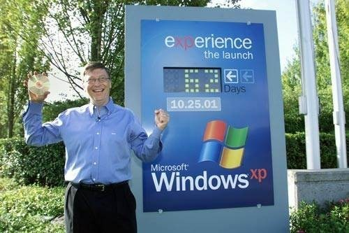 Windows XP Stat of the Day