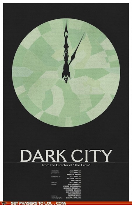 More Minimalist Sci-Fi Movie Posters