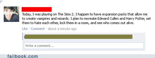 Failbook: Sims Deathmatch