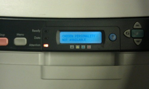 HAL 9000 the Printer