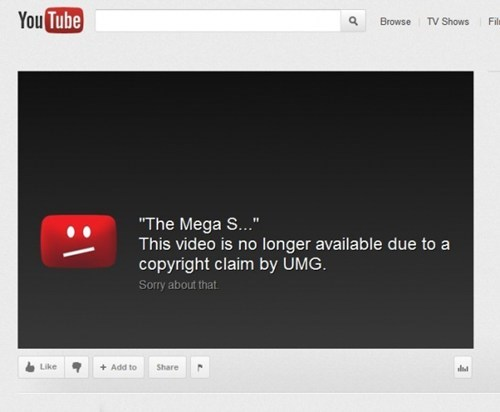 Third Follow Up of the Day: Universal Music May Be Allowed to Censor YouTube Videos in Private Deal