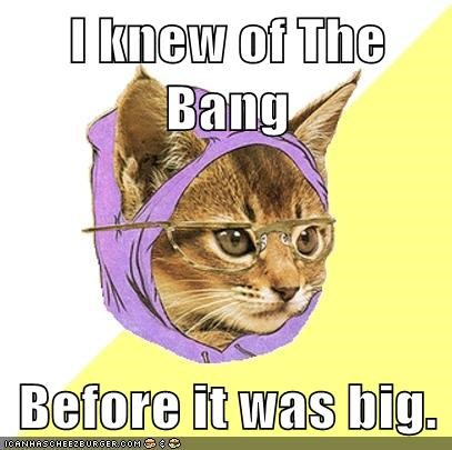 Hipster Kitty's Seen the Higgs Boson