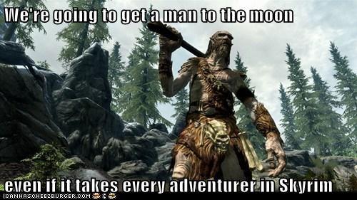 adventurer,bug,fly,giant,moon,Skyrim,the elder scrolls