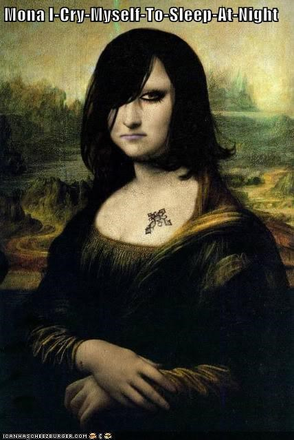 Mona I-Cry-Myself-To-Sleep-At-Night