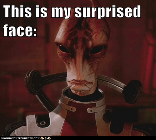 face,mass effect,mordin solus,punch,salarian,surprised