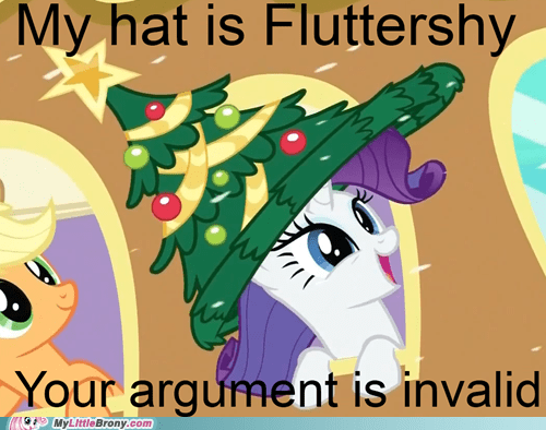 ... christmas tree hat fluttershy meme rarity tree meme by gypzthequaker