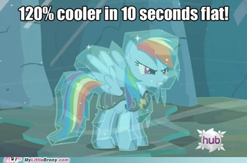 Too Cool, Even for Rainbow Dash