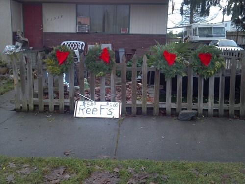 Great Barrier Wreath Sale FAIL