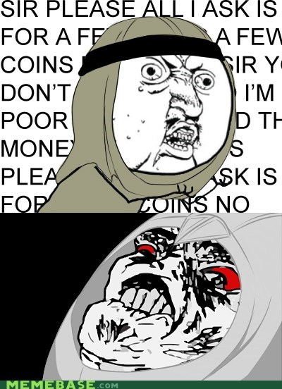 Poor People... Worse Than Templars