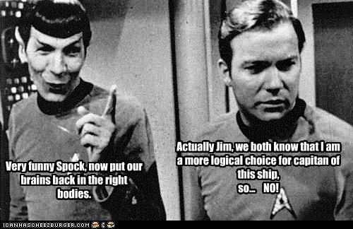 Spock the Traitor