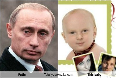 Putin Totally Looks Like This baby